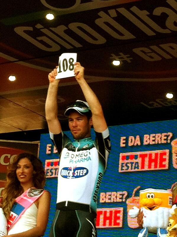 Cavendish vinner etapp 6, och hyllar Weylandt